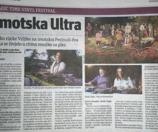 Reportaža o festivalu u Slobodnoj Dalmaciji